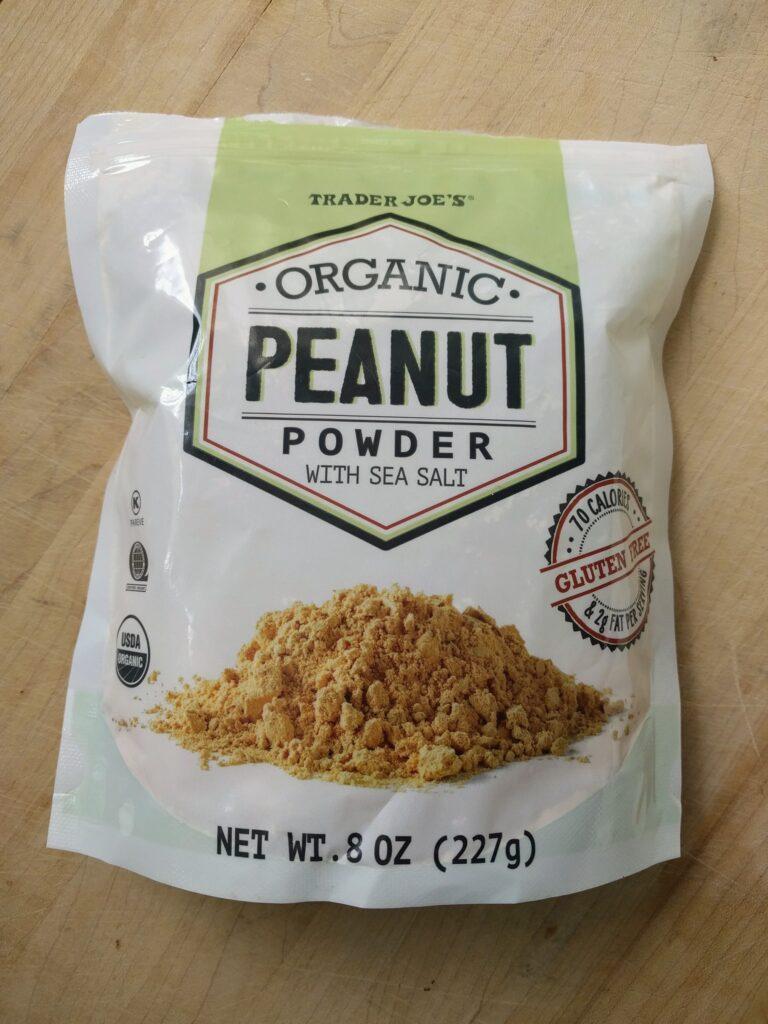 trader joe's peanut powder