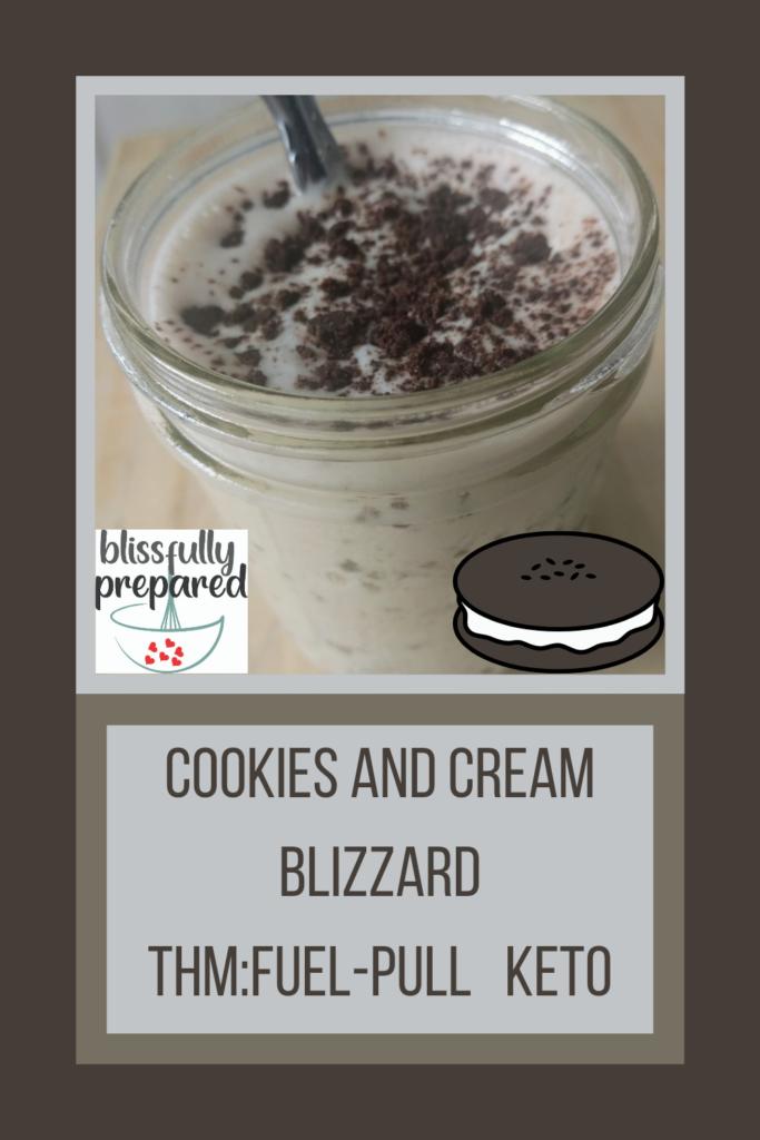 Cookies and Cream Blizzard Blizzards Recipe Roundup