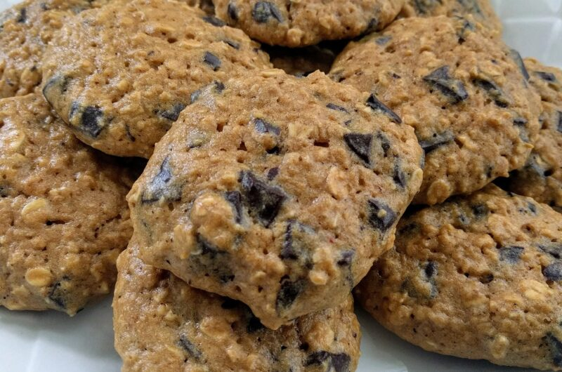 Protein Chocolate Chip Cookies THM-Fuel-Pull Keto Sugar-free