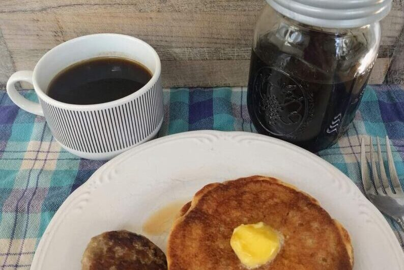 Homemade Sugar-free Maple Syrup THM Keto