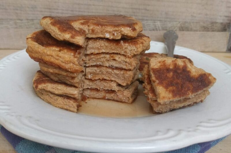 Pumpkin Protein Pancakes THM-Fuel-Pull Low-carb