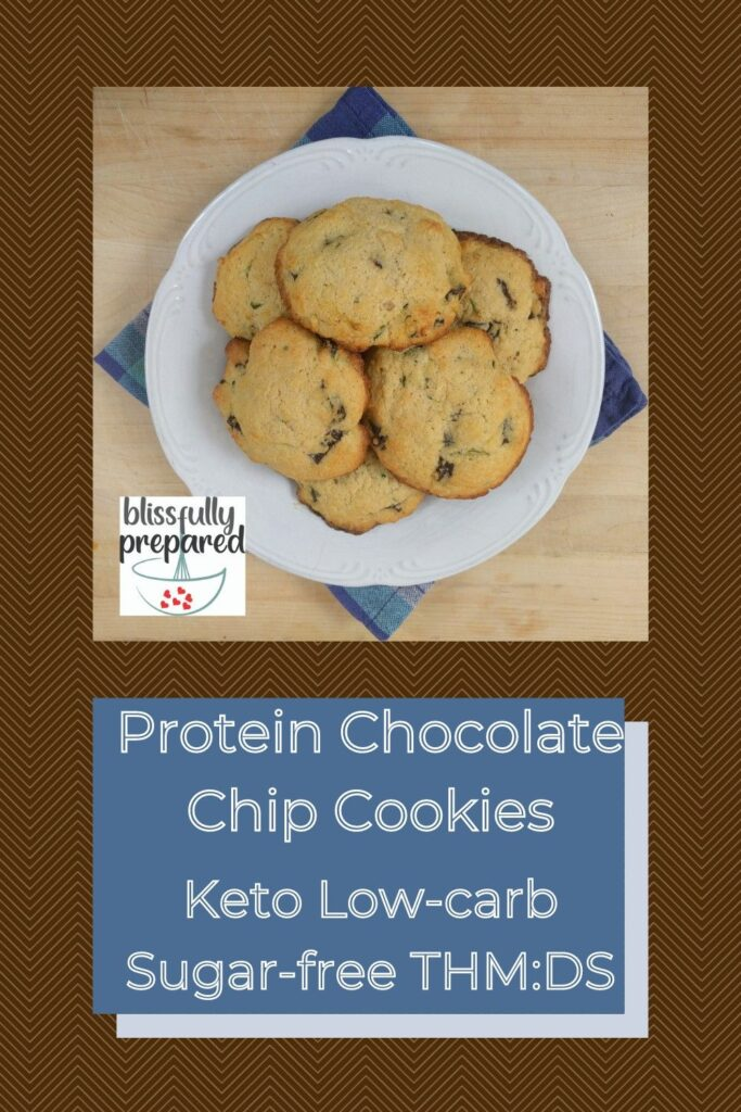 protein chocolate chip cookies pinterest