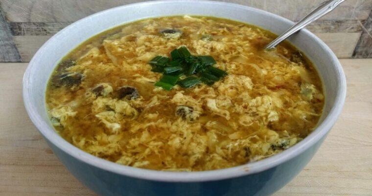 Egg Drop Soup THM-Deep-S Keto Paleo