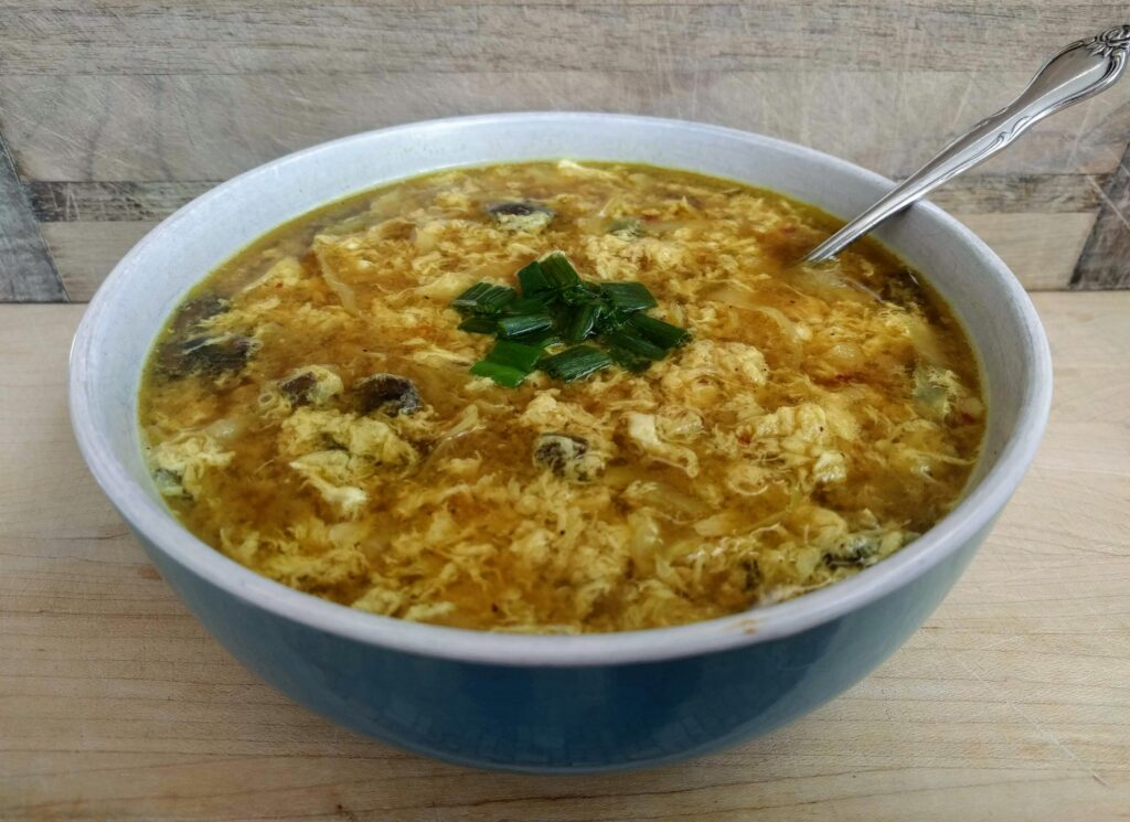 Egg Drop Soup THM-Deep-S Keto Paleo