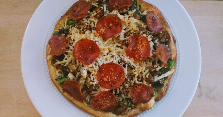 Keto Pizza THM-Fuel-Pull Gluten-Free Low-Fat
