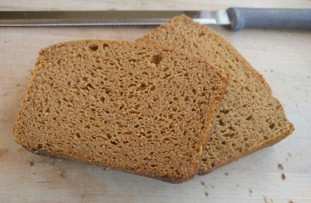 pumpkin protein bread