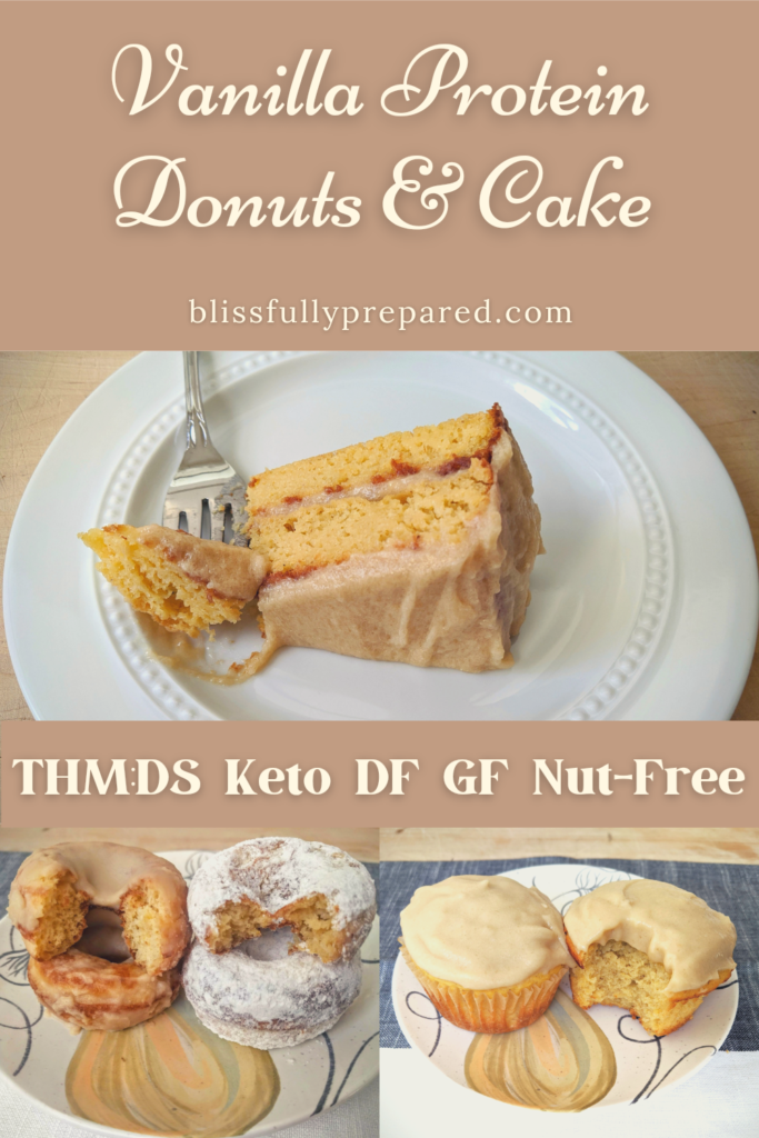 Vanilla Protein Donuts and Cake