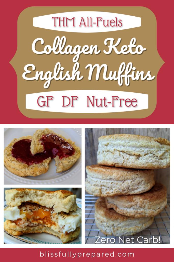 Collagen English Muffins pinterest pin