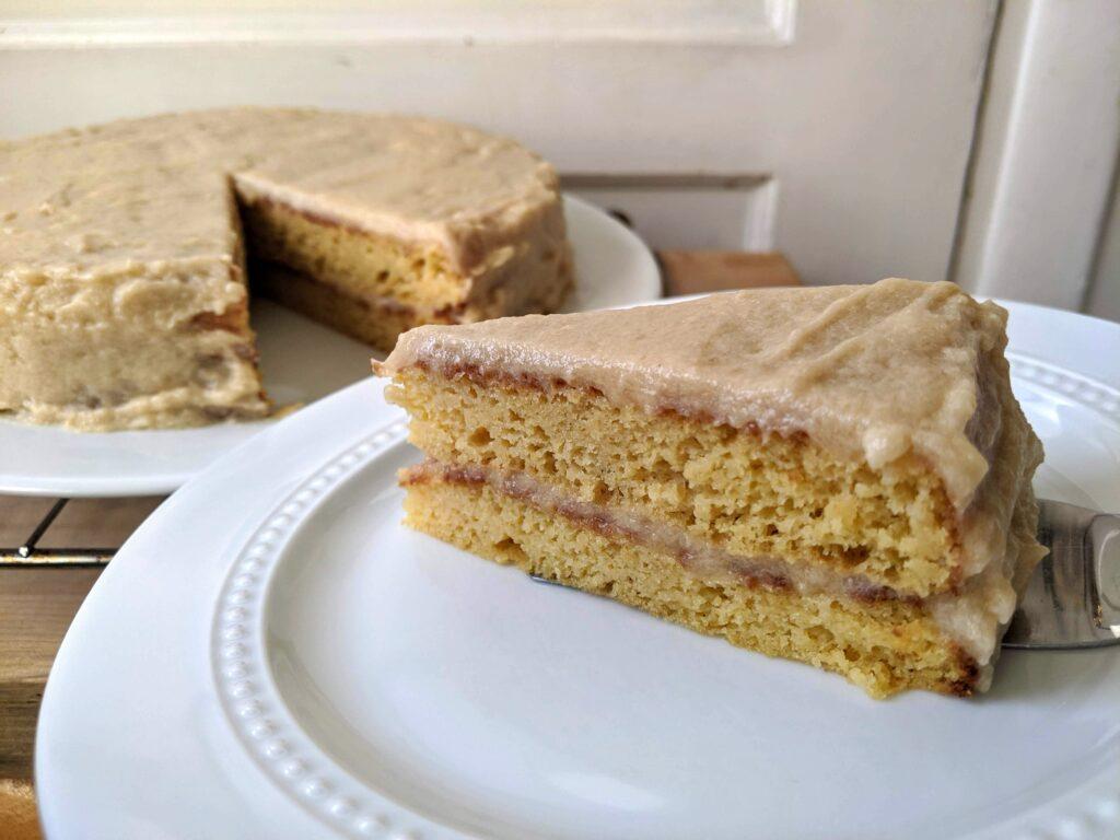 Vanilla Protein Cake