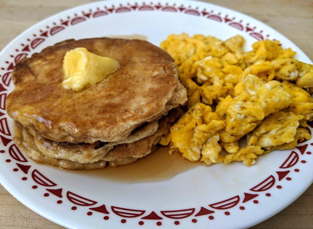 Collagen English muffins pancakes