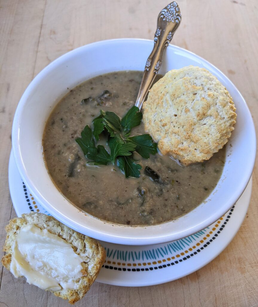 Collagen English muffin soup muffins
