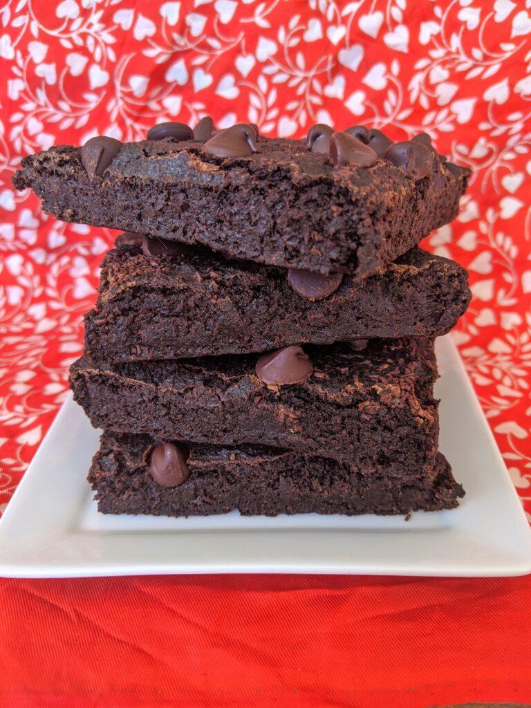 Collagen Beet Brownies