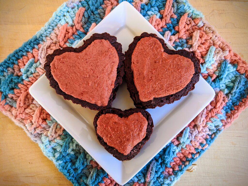 Collagen Beet Brownie Valentines