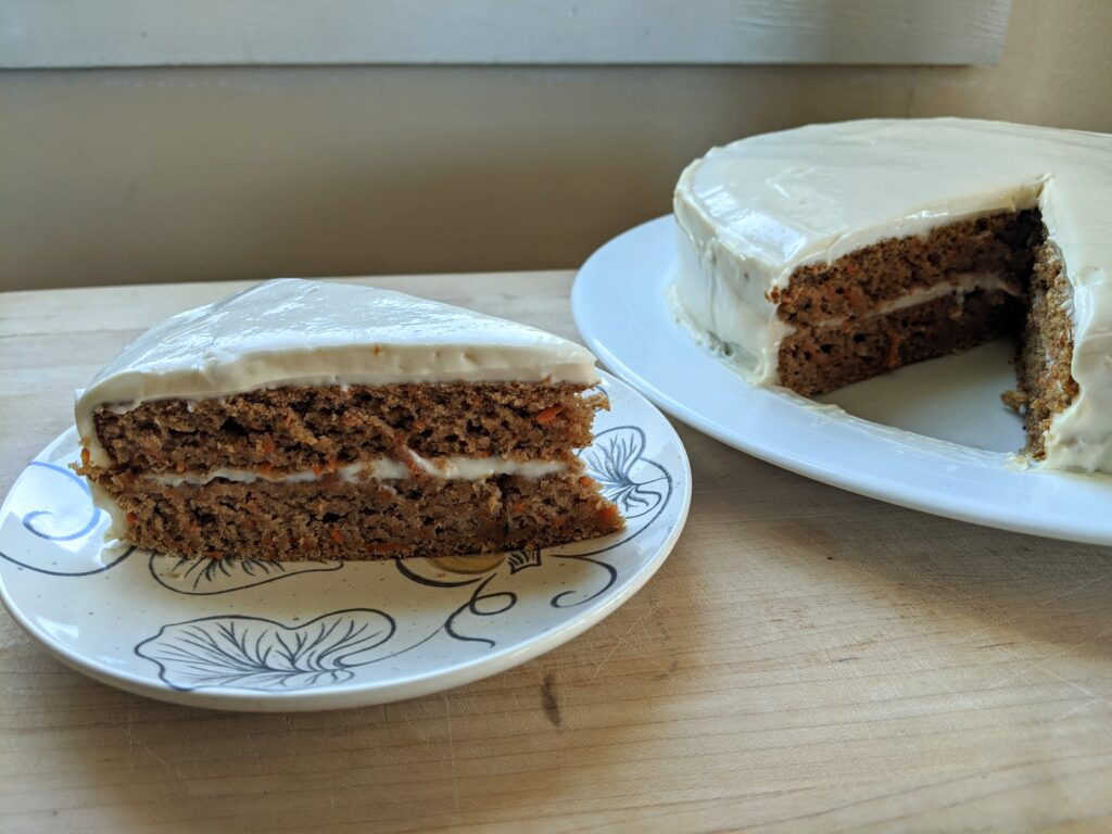 keto carrot cake layer cake