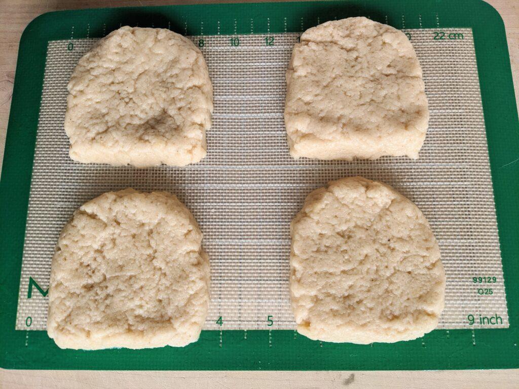 Collagen English Muffins as sandwich bread