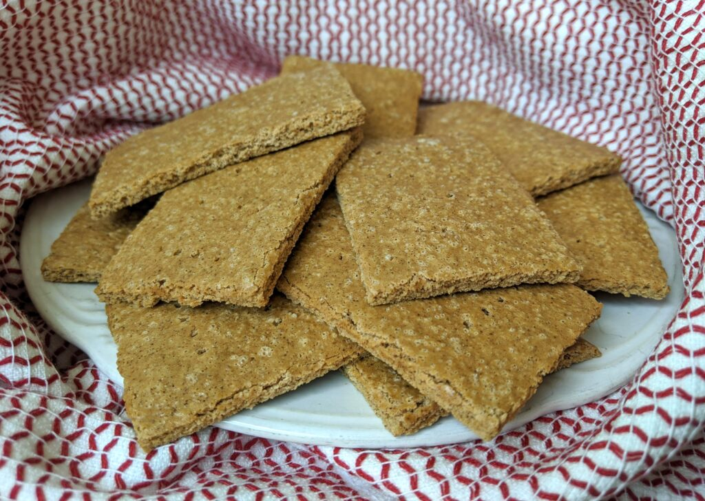 Keto Graham Crackers and Cheesecake THM FP