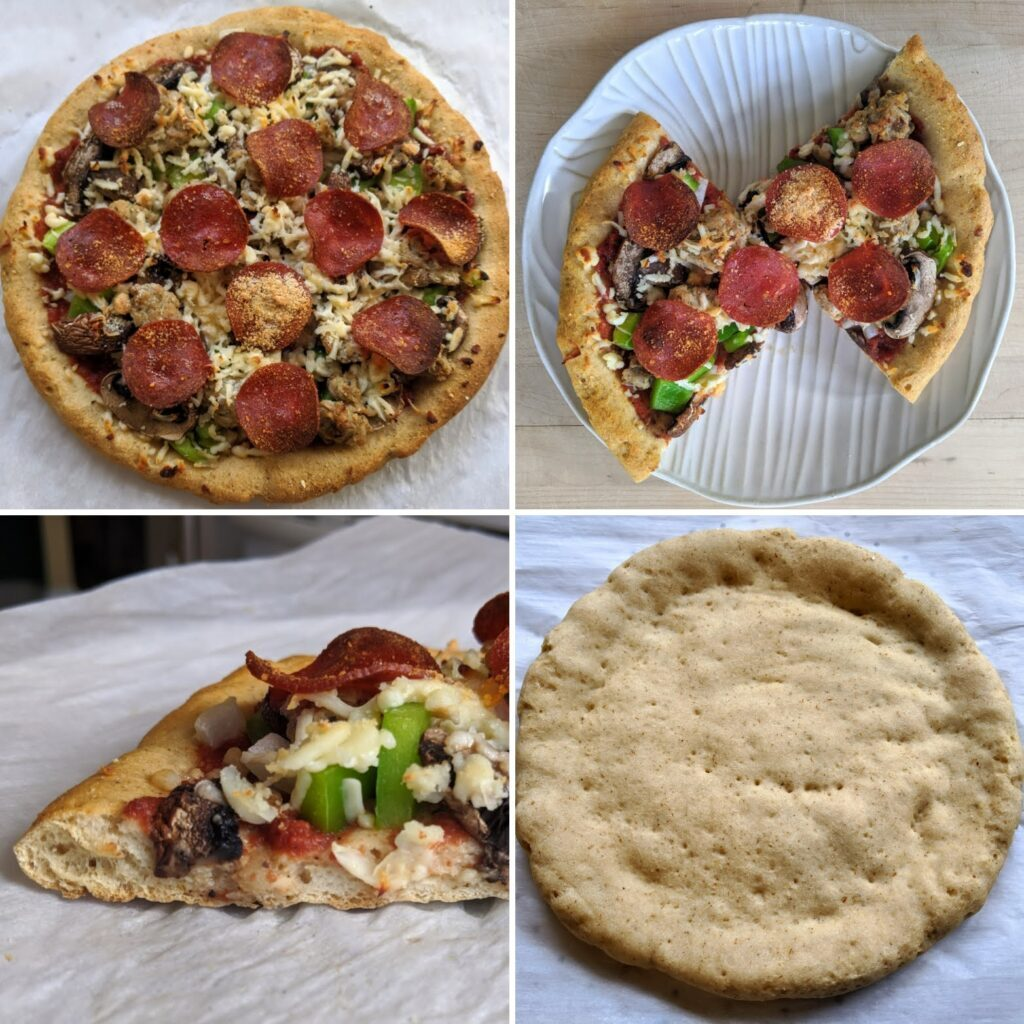 Perfect Keto Bagels as pizza crust